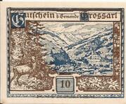 10 Heller (Grossarl) – reverse
