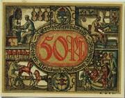 50 Pfennig (Industry Series - Geigen-, Kleinkunst-, Spielwaren-Industrie) – reverse