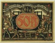 50 Pfennig (Industry Series - Glasindustrie) – reverse