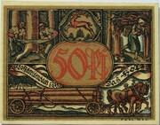 50 Pfennig (Industry Series - Holz) – reverse
