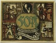 50 Pfennig (Industry Series - Porzellanindustrie) – reverse