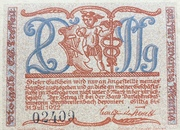 20 Pfennig (Kleinkunstindustrie Carl Günther Tresselt) – obverse