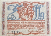 25 Pfennig (Kleinkunstindustrie Carl Günther Tresselt) – obverse