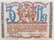 50 Pfennig (Kleinkunstindustrie Carl Günther Tresselt) – obverse