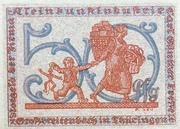50 Pfennig (Kleinkunstindustrie Carl Günther Tresselt) – reverse