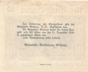 10 Heller (Grünau) -  reverse