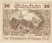 20 Heller (Grünau) -  obverse