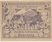 50 Heller (Grünburg) -  obverse