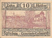 10 Heller (Gschwandt) -  obverse