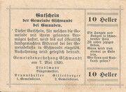 10 Heller (Gschwandt) -  reverse