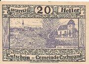 20 Heller (Gschwandt) -  obverse
