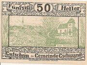 50 Heller (Gschwandt) -  obverse