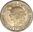 50 Centimes (Piedfort) – obverse