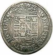 1 Lira - Ferrante II – reverse