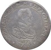 ½ Scudo, 70 Soldi - Ferrante II – obverse