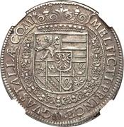 1 Tallero - Ferrante II – reverse