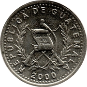 5 Centavos (non-magnetic) -  obverse