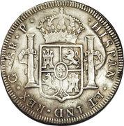 8 Reales - Carlos III – reverse