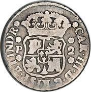 2 Reales - Carlos III – obverse