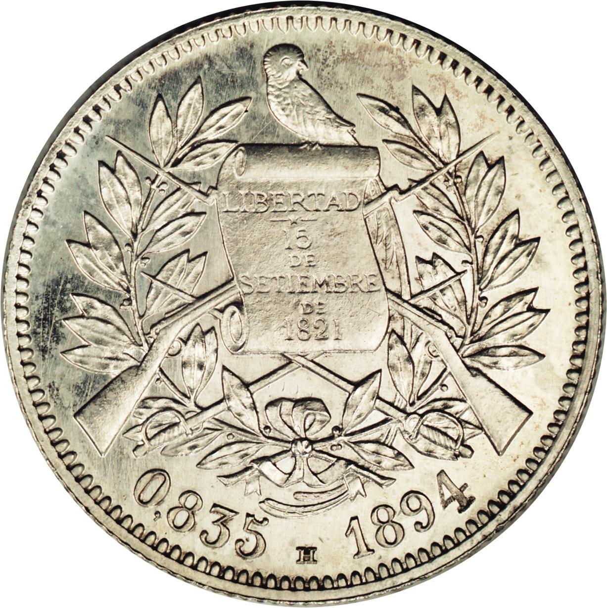 2 Reales - Guatemala – Numista
