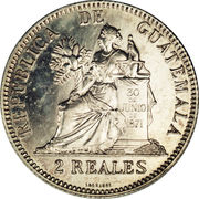2 Reales -  reverse