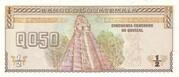 0.50 Quetzal – reverse