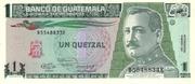 1 Quetzal – obverse