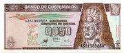 0.50 Quetzal – obverse