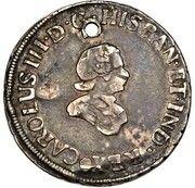 4 Reales - Carlos III (Proclamation) – obverse