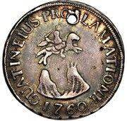 4 Reales - Carlos III (Proclamation) – reverse