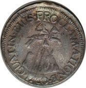 1 Real - Carlos III (Proclamation) – reverse