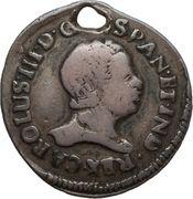 ½ Real - Carlos III (Proclamation) – obverse