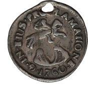 ½ Real - Carlos III (Proclamation) – reverse