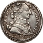 1 Real - Carlos IV (Proclamation) – obverse