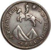 1 Real - Carlos IV (Proclamation) – reverse