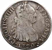 4 Reales - Carlos IV – obverse