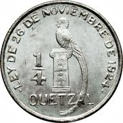¼ Quetzal -  reverse