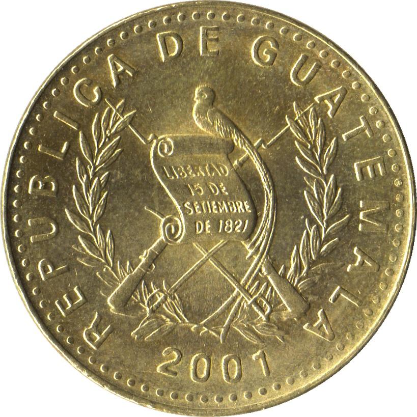 1 quetzal coin value