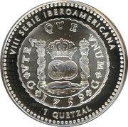 1 Quetzal (Historical Coins) -  reverse