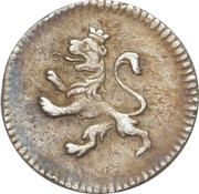 ¼ Real - Carlos IV – obverse