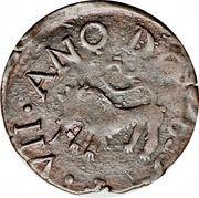 ½ Real - Fernando VII (Royalist coinage) -  reverse