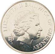 5 Pence - Elizabeth II (4th portrait; magnetic) – obverse