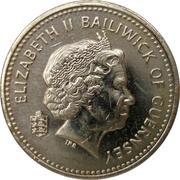 1 Pound - Elizabeth II (4th portrait) -  obverse
