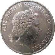 10 Pence - Elizabeth II (4th portrait; non-magnetic) – obverse