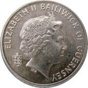 5 Pence - Elizabeth II (4th portrait; non-magnetic) -  obverse