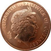 2 Pence - Elizabeth II (4th portrait) – obverse