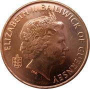 1 Penny - Elizabeth II (4th portrait) – obverse