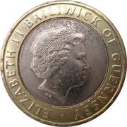 2 Pounds - Elizabeth II (4th portrait) -  obverse