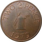2 Pence - Elizabeth II -  reverse