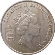 10 Pence - Elizabeth II (3rd portrait; large type) – obverse